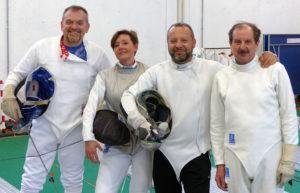 Mario, Barbara, Iuri e Claudio pronti per i Campionati Europei