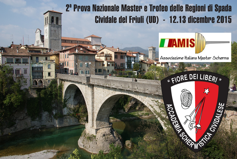 A Cividale la 2^ Prova Nazionale Master di Spada | Accademia